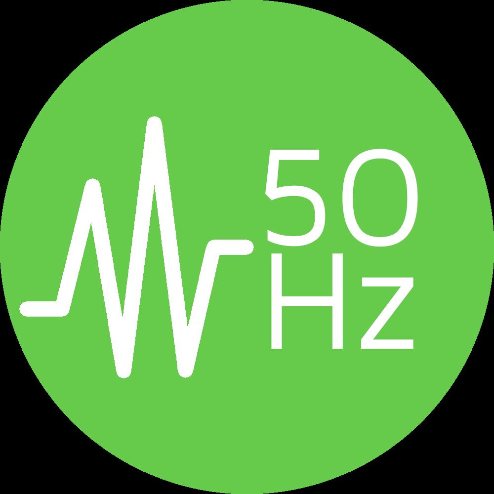 Bildübertragung it 50 Hz (Bildfrequenz)