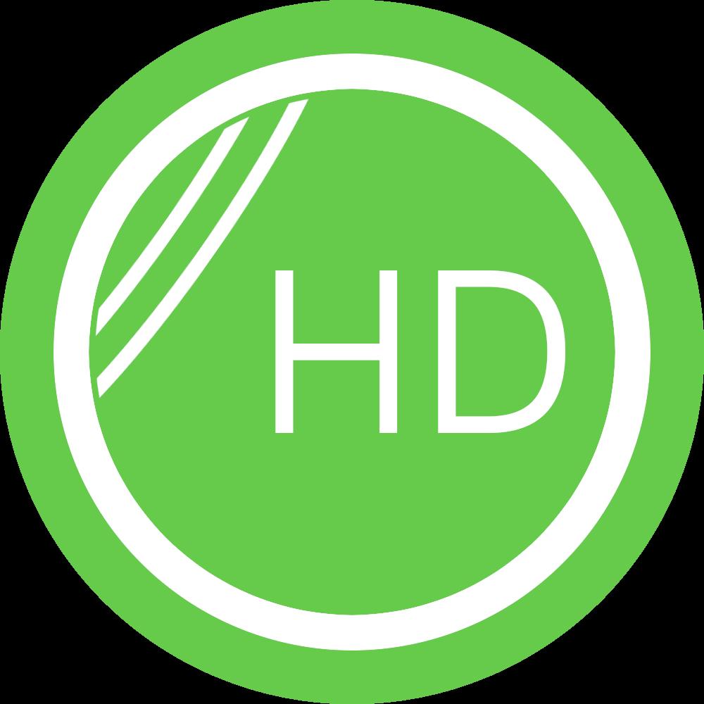 hochauflösende Linsentechnik (HD-Glas)