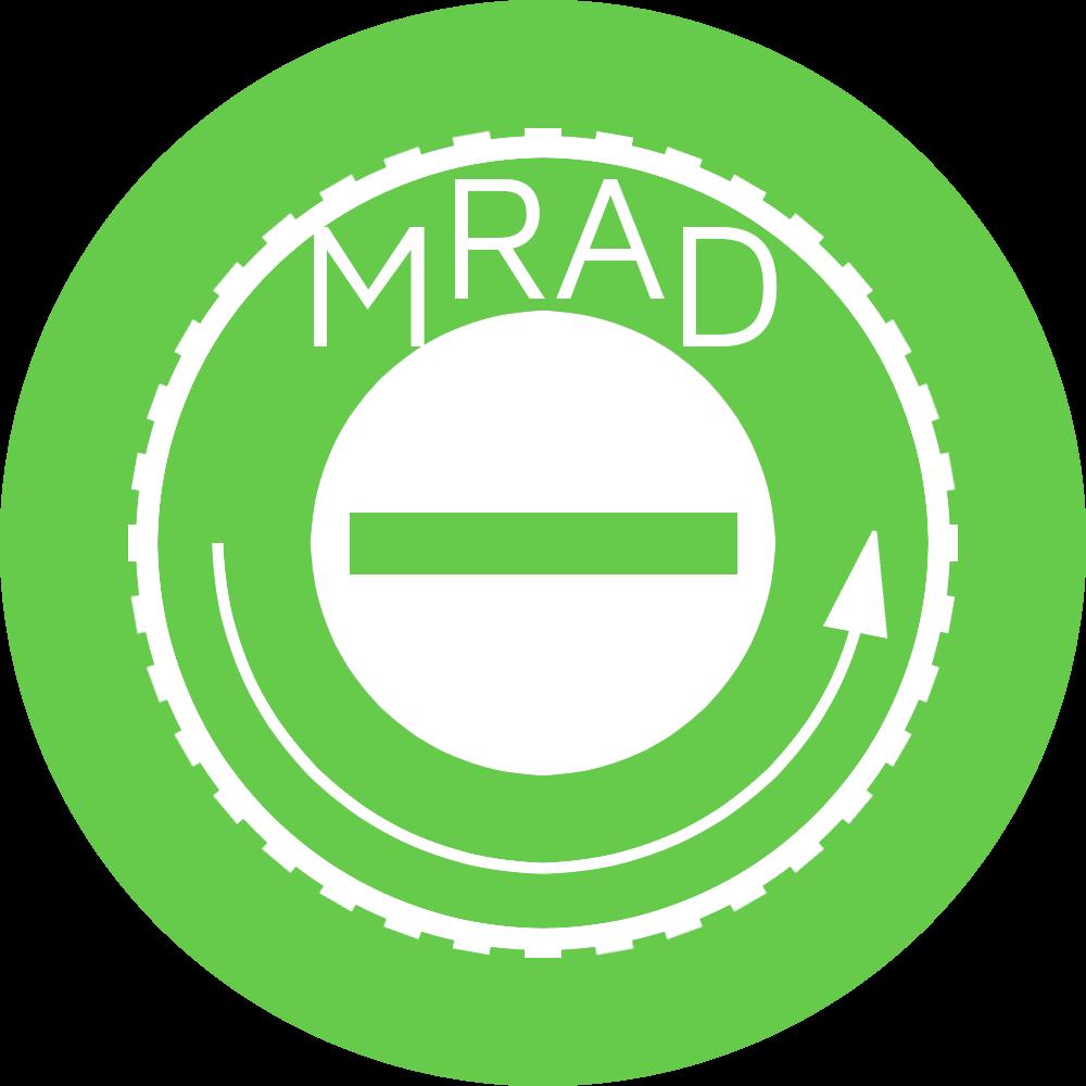 reticle adjustment in MRAD